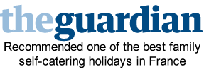 The Guardian top 10 family self catering in France